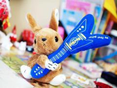 ギターウサギ